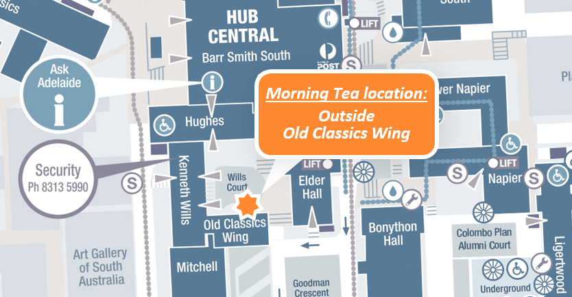 Morning tea map